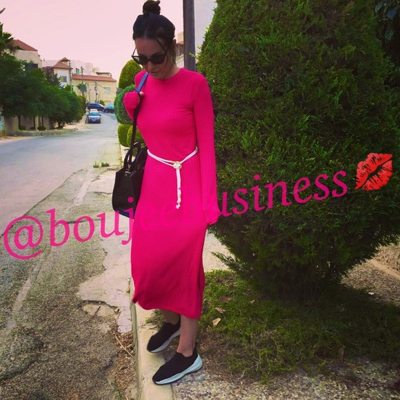 Zara Dresses & Skirts - ZARA Long Belted Dress